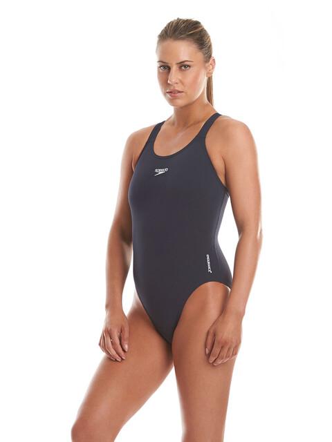 speedo Essential Endurance+ Medalist Swimsuit Women Navy